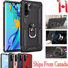 For Huawei P30 Lite Pro Shockproof Slim Heavy Duty 360 Ring Magnetic Case Cover