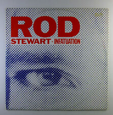 """12"""" Maxi - Rod Stewart - Infatuation - L5783h - washed & cleaned"""