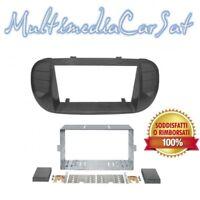 Mascherina Autoradio Kit di fissaggio per autoradio 2Din Fiat 500 fino'16 03578