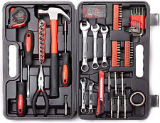 New Listing148 Piece Tool Set General Household Hand Kit Plastic Toolbox Storage Case