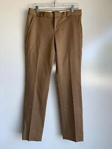BANANA REPUBLIC Ryan Brown Taupe Washable Career Trouser Pants Size 2
