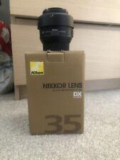 Nikon Nikkor AF-S 35mm f1.8 DX G Lens for Nikon