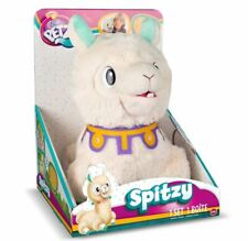 Club Petz Spitzy The Funny Llama Plush Noisy Eater Pets Spitsy Spits