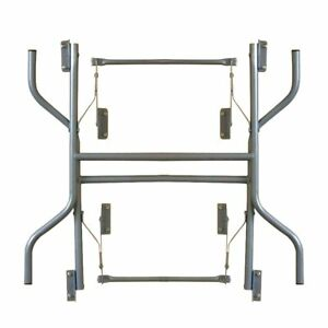 72 in Round Table Folding Leg Set Only Replacement Legs For Banquet Tables