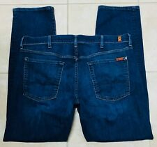 Seven 7 for All Mankind Mens Standard Blue Jeans size 38 x 32
