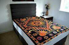 Orange ASTROLOGY Cotton Wall Hanging Mandala Tapestry Bohemian Room Bedspread