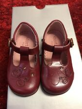 Startrite lovely Pixie Dark Red Patent infant girls shoes 5E