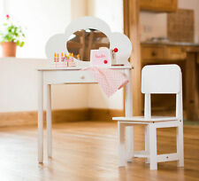 Sue Ryder - Children's Dressing Table & Chair - White