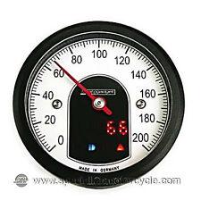 Contachilometri Elettronico Street Total Black 200Km/h Cafè Racer