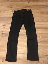 Mens Diesel KROOLEY  Regular Slim Carrot Black Stretch Jeans W32 L30 Wash 008A0