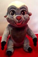 "EUC Disney Store Lion Guard King Bunga Badger Plush Stuffed Toy Authentic 10"""