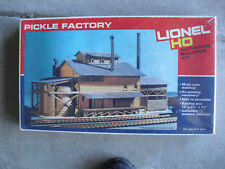 Vintage HO Scale Lionel Pickle Factory Building Kit New in Box 4551