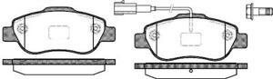 Front Brake Pads Fiat Punto 500 500C 13046038462 0986494114