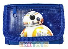 Disney Star Wars BB-8 The Force Awakens Kids Tri-Fold Wallet Coin Purse Bag