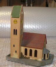 L6 Faller B-238 Kirche ca 14,8x8,8x14,2 cm 60 er Jahre