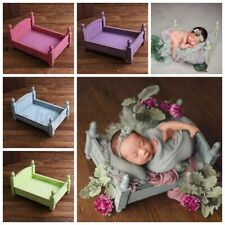 Retro Newborn Baby Wood Bed Wooden Photography Photo Props For Photo Shoot Decor