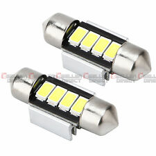 2x White 31MM 5730 SMD 4 LED Car Auto Festoon Dome Interior Map Read Door Lights