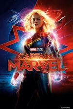 Authentic Captain Marvel Blu-ray & Digital Copy Code Pre-Order Brie Larson