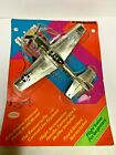VINTAGE TOYS 1970'S TESTORS FLY 'EM WWII P-51 MUSTANG GAS POWERED AIRPLANE