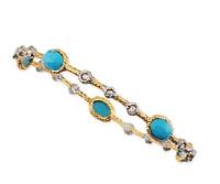 Alexis Bittar Womens Gold Lace Bangle Bracelet 0498