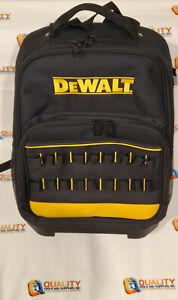 New Dewalt Heavy Duty Tool Backpack Bag with Hard Bottom - N865120
