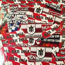 150 x  FC Bayern München Aufkleber Sticker Inspiriert von Südkurve Fahne Schal