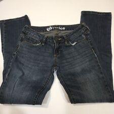 Bullhead Venice Skinny Jeans Womens  Size 1 Short Distressed Wash