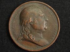 MEDAILLE CUIVRE DEPUYMAURIN.D. - LOUIS XVIII 1820 FONDATION SEMINAIRE St SULPICE