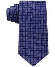 $125 CALVIN KLEIN Men`s PURPLE DOT SKINNY DRESS SLIM NECK TIE SILK NECKTIE 59X3