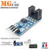 Module Fourche optique F249 Capteur vitesse Tachymètre Optocoupleur | Arduino