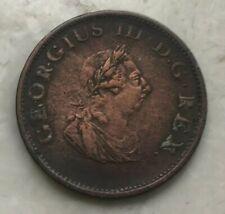 1805 Ireland 1/2 Half Penny - Cleaned