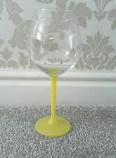 ❤ 2 very large balloon glitter wine glasses  with diamanté ❤