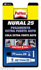 Pegamento extra fuerte para coche 22 ml pattex  Nural 25 pegamento translucido