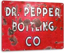 """""""Dr. Pepper Bottling Co"""" Metal Decor Art Cola Shop Store Kitchen Sign"""