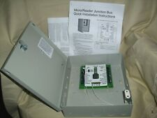 New listing Lenel Fire Box Micro Reader Junction Box 450222001 with Box & Key