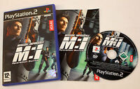 mission Impossible Operation Surma for Sony PlayStation 2 FREEPOST 3546430104958