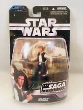 Star Wars The Saga Collection Han Solo Action Figure