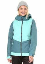 Nikita Womens Magnolia Snowboarding Insulated Jacket Pool Blue S New