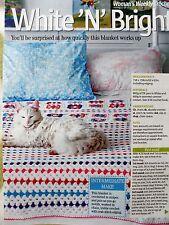 Crochet BLANKET  ~ Crochet Pattern ~ NEW