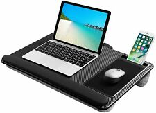 Lightweight Desk Laptop Tray Pillow Cushion Stand Built-in Mouse Pad Wrist Rest