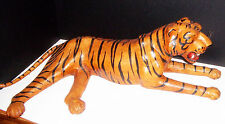 African Hand Made Leather Tiger excellent condition