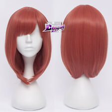 Lady Watermelon Red Hair for Love Live! Nishikino Maki Anime Cosplay Wig +Bangs