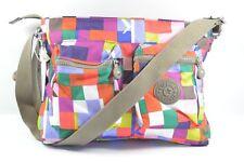 Kipling HB6513 6AF CORALIE PRT K Squared Red Shoulder Crossbody Bag