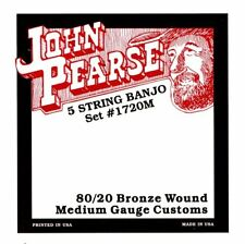 John Pearse Gr37088 Corde per Banjo 5-corde M Bronzo