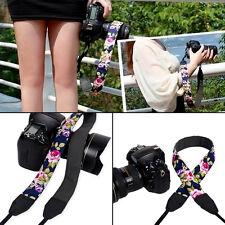 1pc Vintage Flower Camera Strap Shoulder Neck Strap For DSLR camera