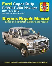 2011-2016 Ford Super Duty F250 F350 Gas Diesel Repair Service Shop Manual 922569