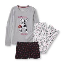 Joe Boxer Junior Knit Pajama Top Pants & Shorts 3-Pc Set - Dog / Puppy