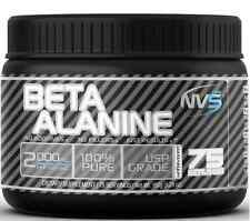 New NVS Labs Beta Alanine Unflavored 150g Pure Powder 75 Servings