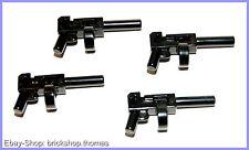 Lego 4 x Gewehr Batman Star Wars Indiana Jones Tommy Gun - x1608 - NEU / NEW