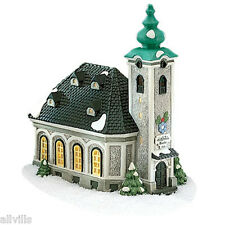 "St Nickolaus Kirche #56170 Department 56 Retired Alpine Village ""Silent Night"""